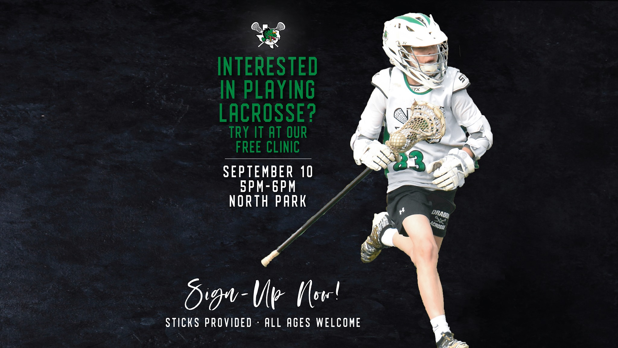Free Clinic For Those Interested In Trying Lacrosse Kids Out And About Midcities